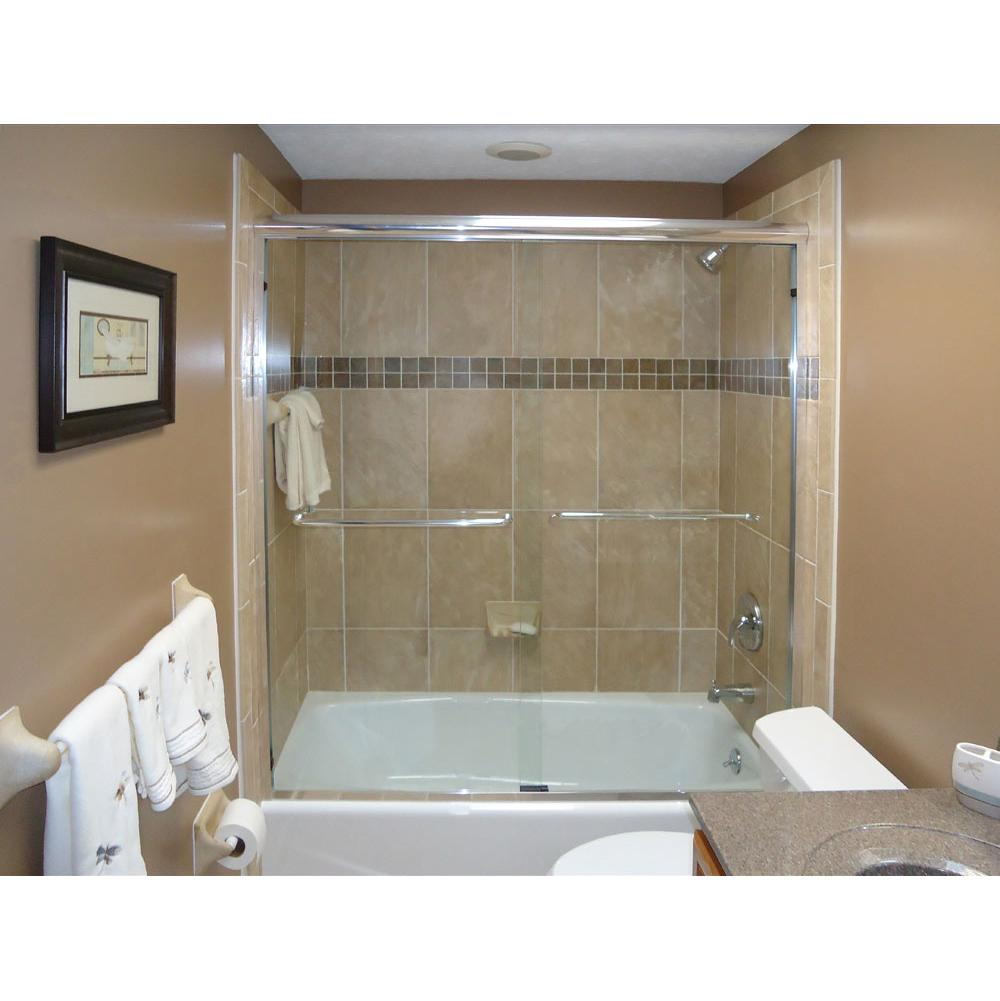 Oasis tub shower glass doors - 4400