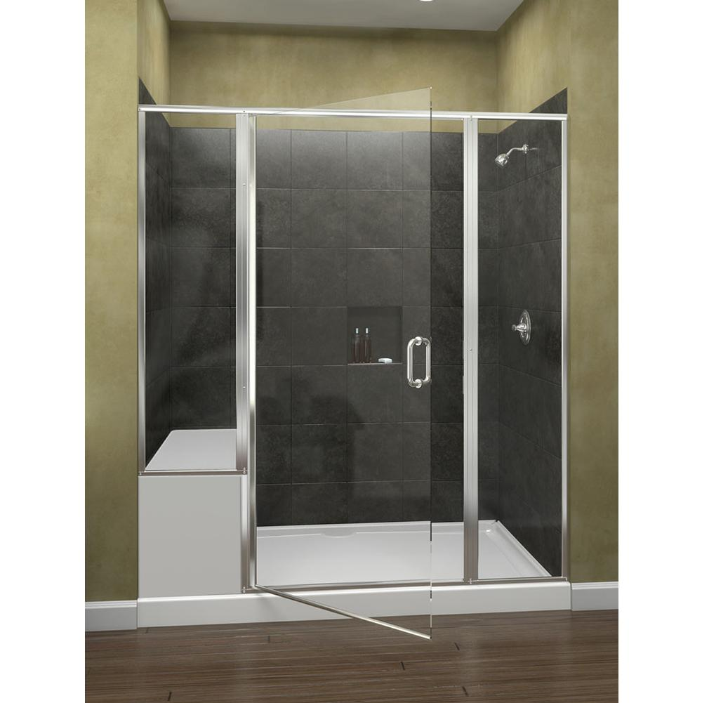 Oasis tub shower glass doors - 1412clgd