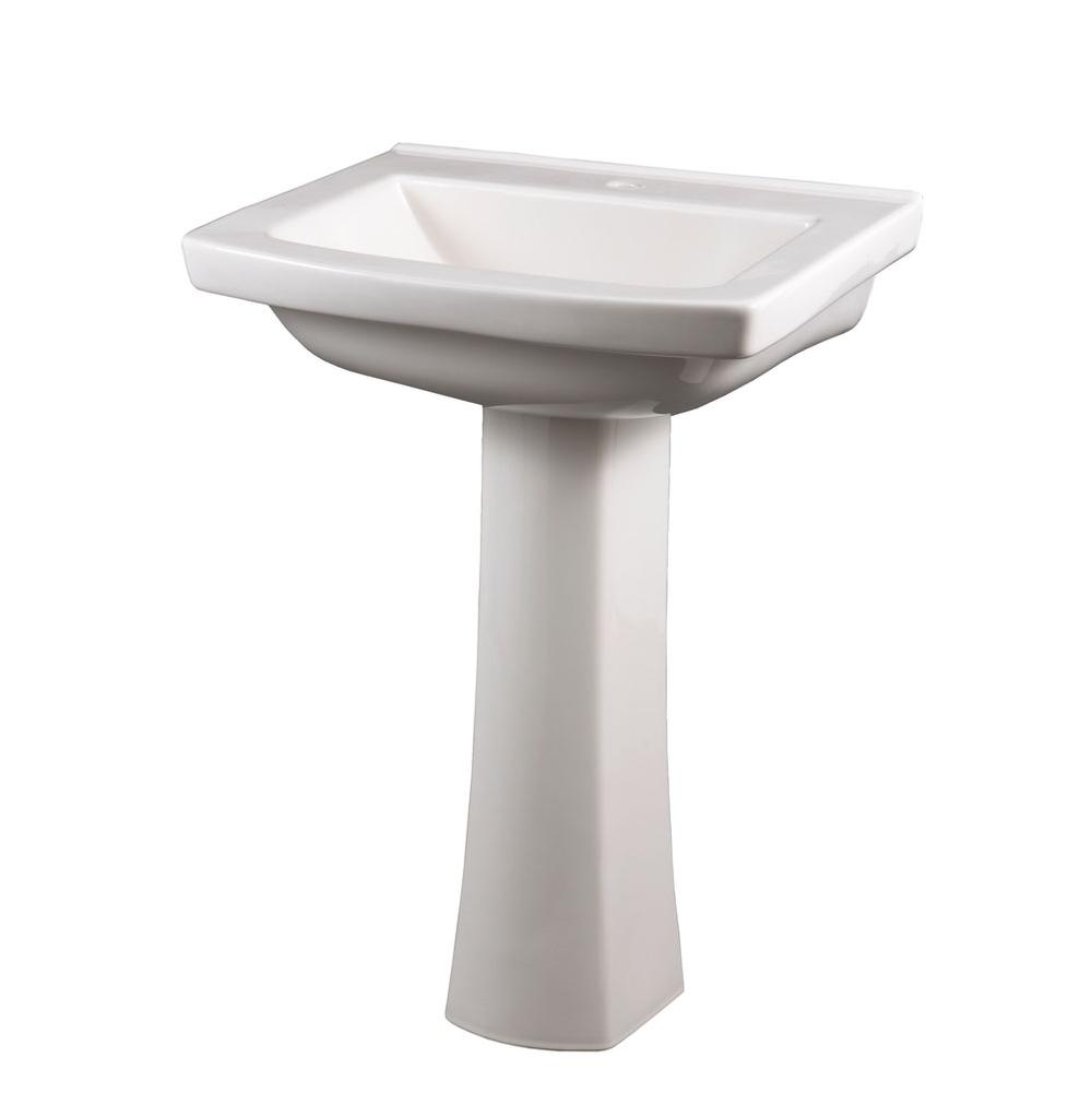 Gerber Pedestal Sink : Gerber Plumbing Sinks Pedestal Bathroom Sinks APR Supply - Oasis ...