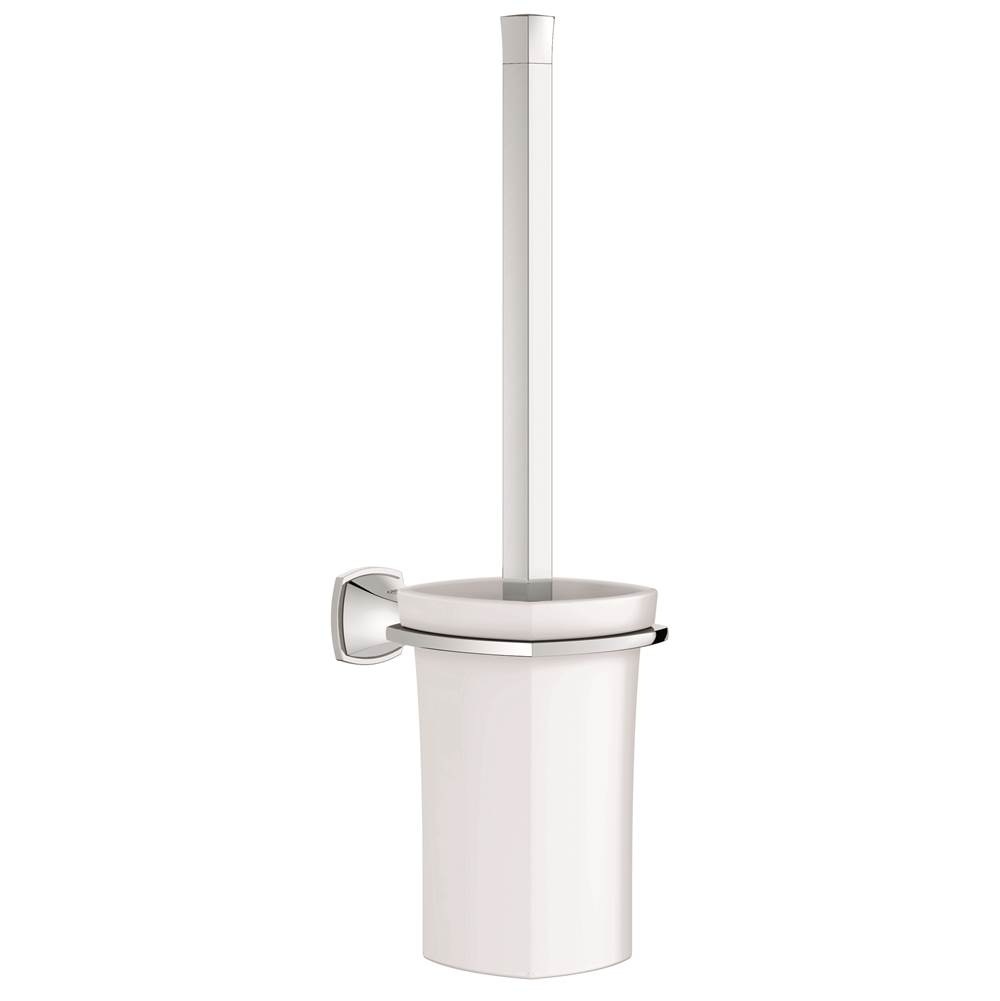 40632000 grohe grandera toilet brush available in 2 finishes bathroom accessories