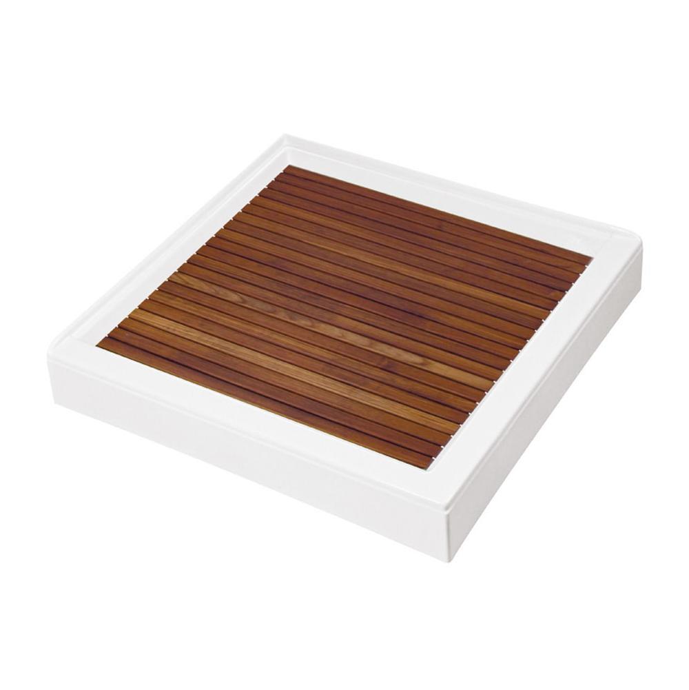 M T I Baths Bathroom Showers Shower Bases Wood   APR Supply - Oasis ...