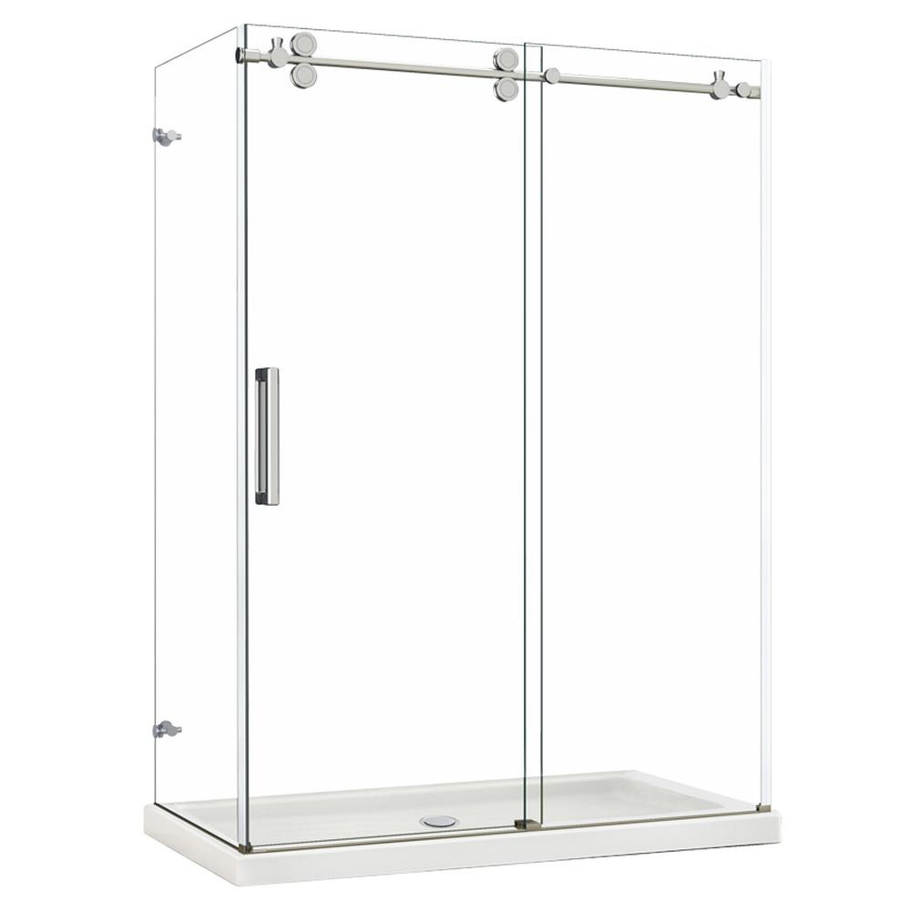 M T I Baths Shower Doors Double Sided Glass Enclosure | APR Supply ...