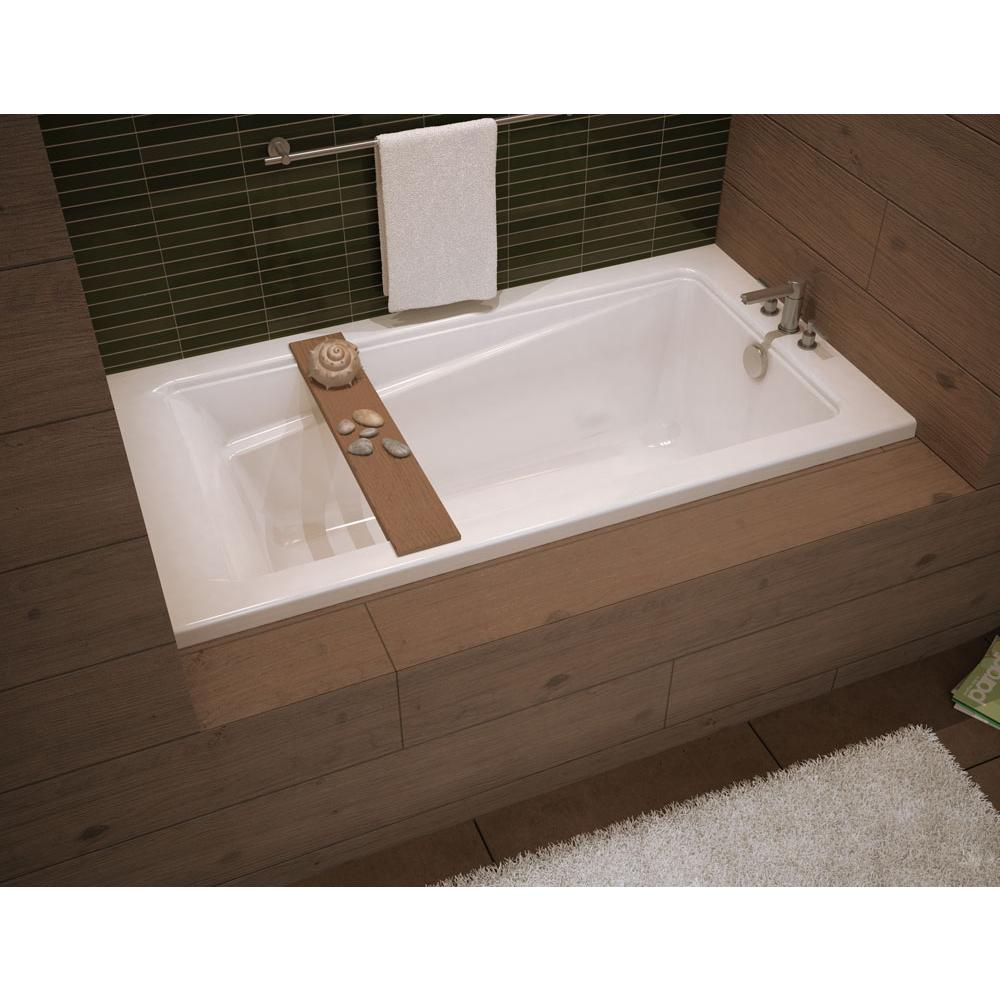 Soaking Tubs Three Wall Alcove White   APR Supply - Oasis Showrooms ...