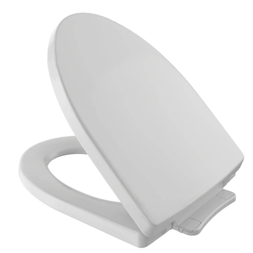 soft close grey toilet seat. SS214 11  Toto TOTO Soir e SoftClose Toilets Toilet Seats APR Supply Oasis Showrooms Lebanon